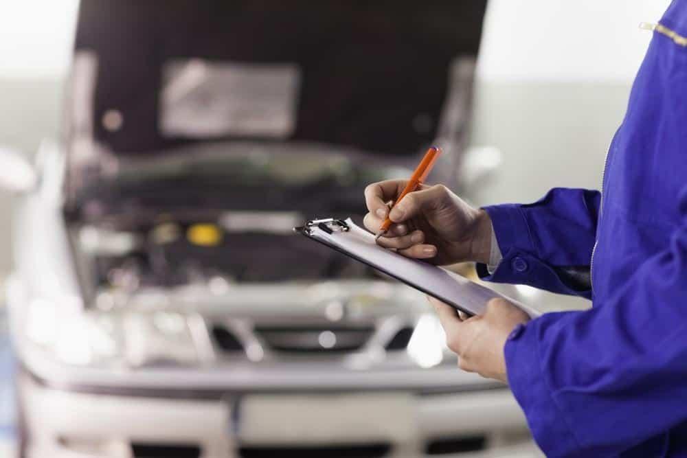 Checklist Itens do carro