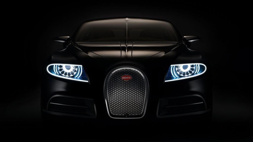 Carro com lâmpada de LED
