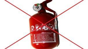 extintor não é mais obrigatório