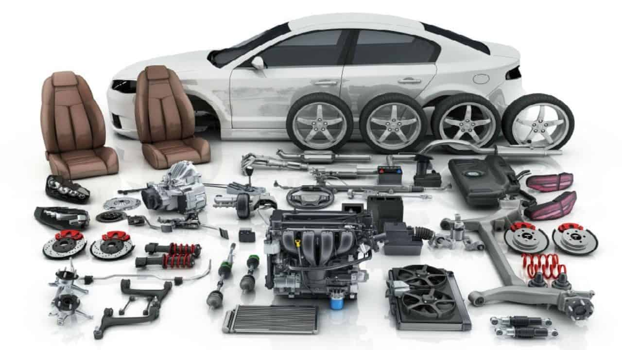 Você sabe o nome das peças do carro?