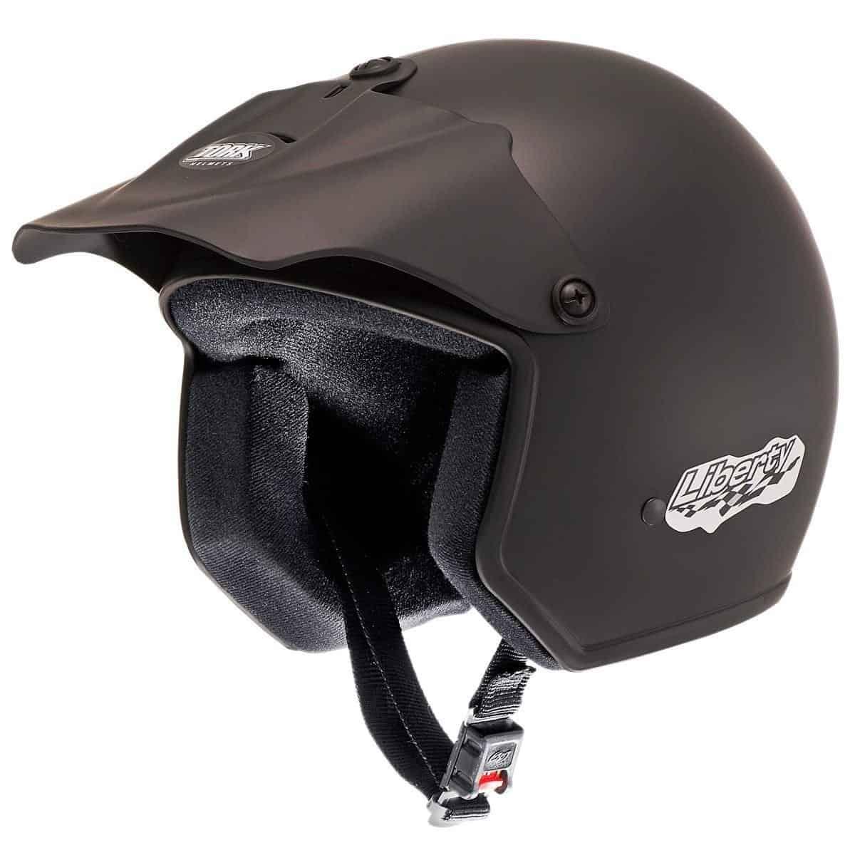 capacete aberto