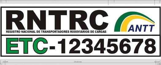 Registro Nacional de Trasnportadores rodoviários de cargas