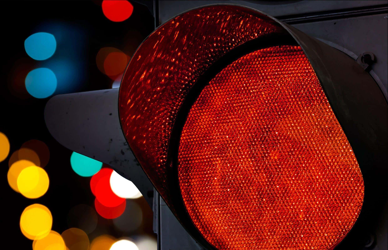 multa por avançar sinal vermelho como recorrer