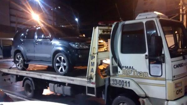 carro guinchado por IPVA