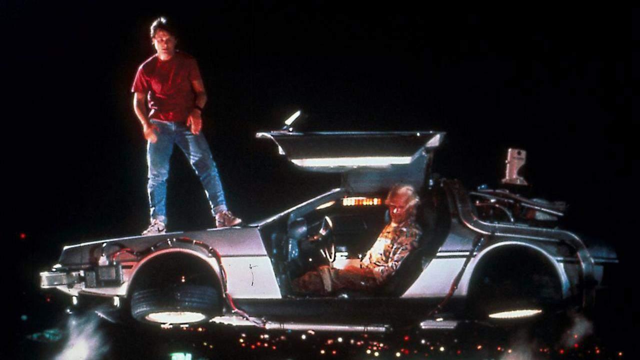 carro do filme de volta para o futuro