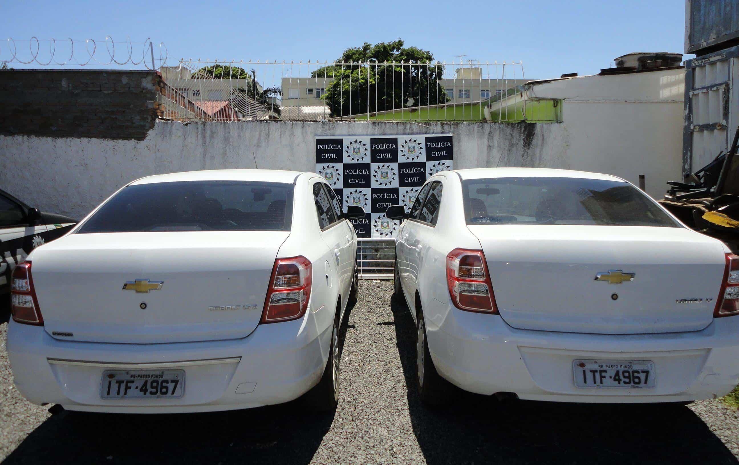 Golpes de trânsito veículo clonado