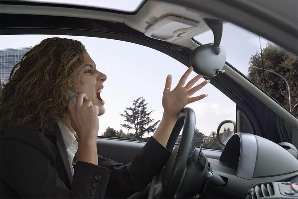 estresse no trânsito