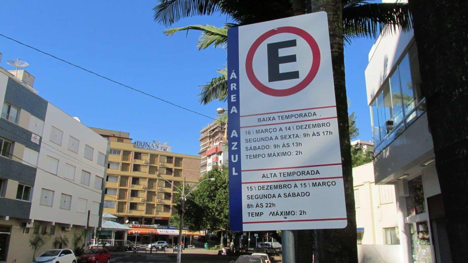 estacionamento rotativo furto