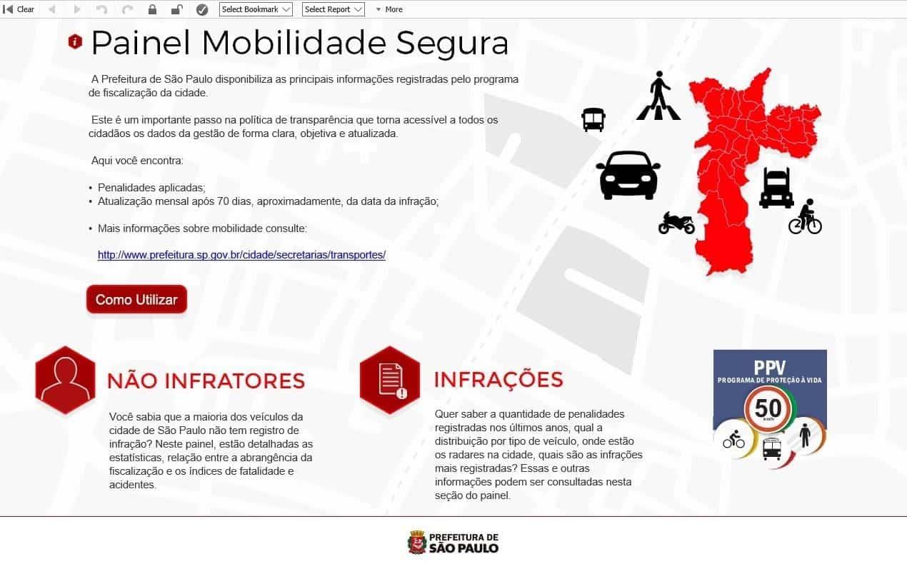 mapa dos radares site mobilidade