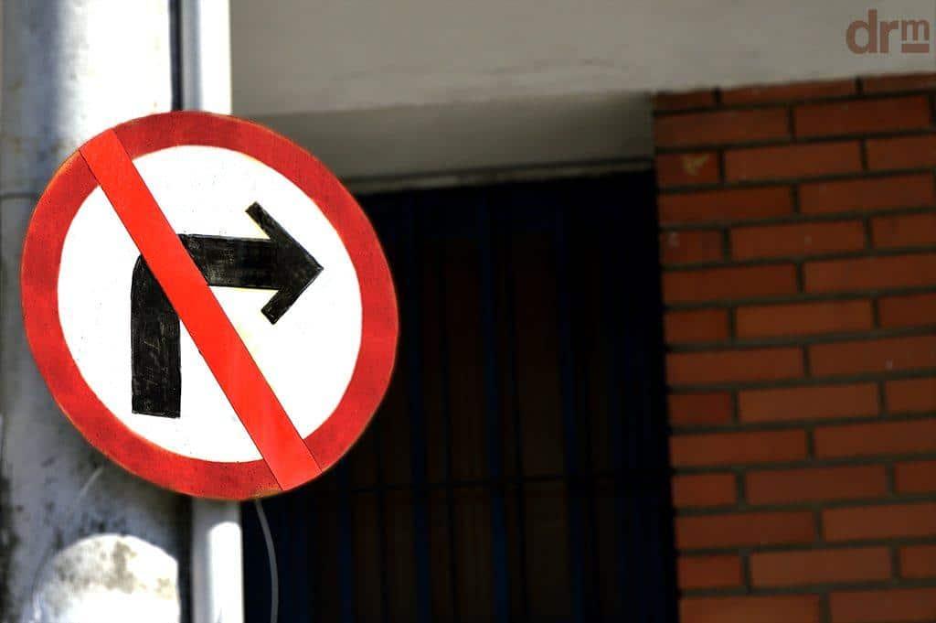 conversão proibida