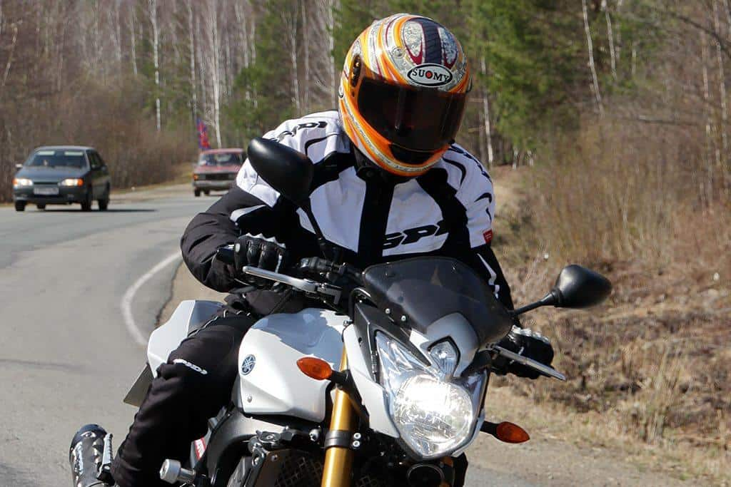 Motorcycle Racing. Rally cross-country.
