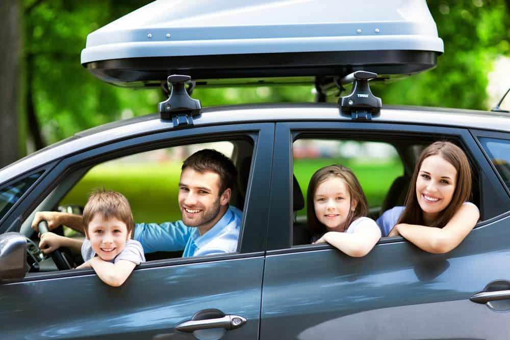 viajar em segurança família
