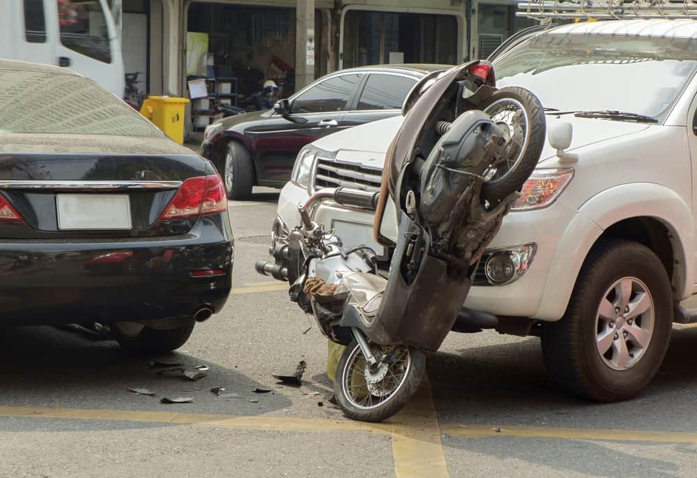 acidente de transito moto