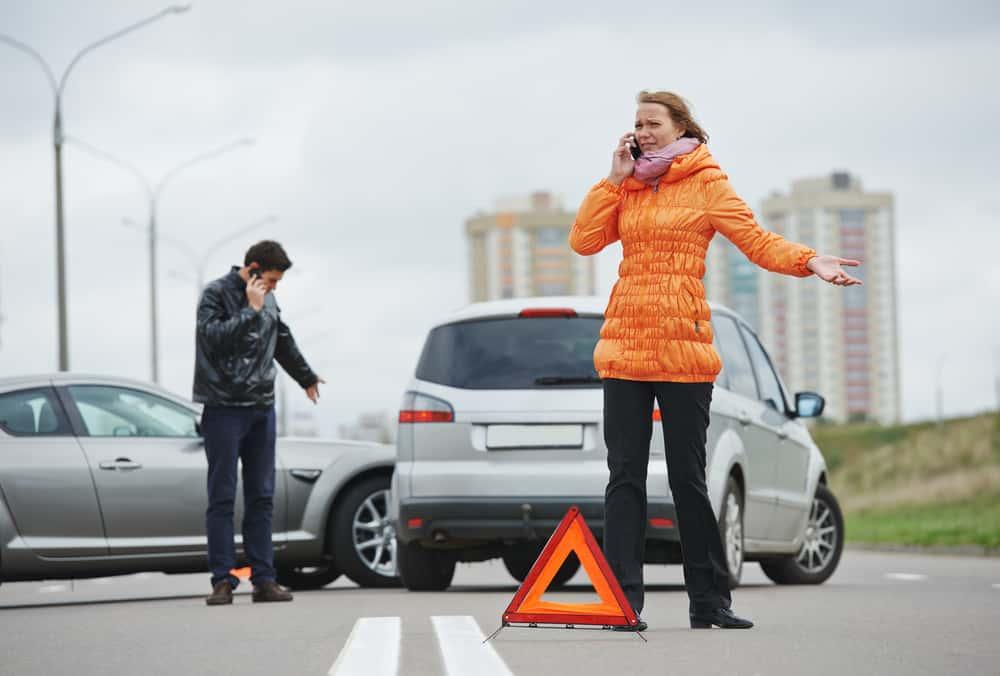 acidente de transito o que fazer
