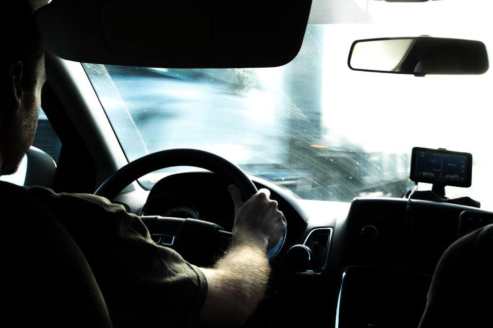 acidente dirija com cuidado