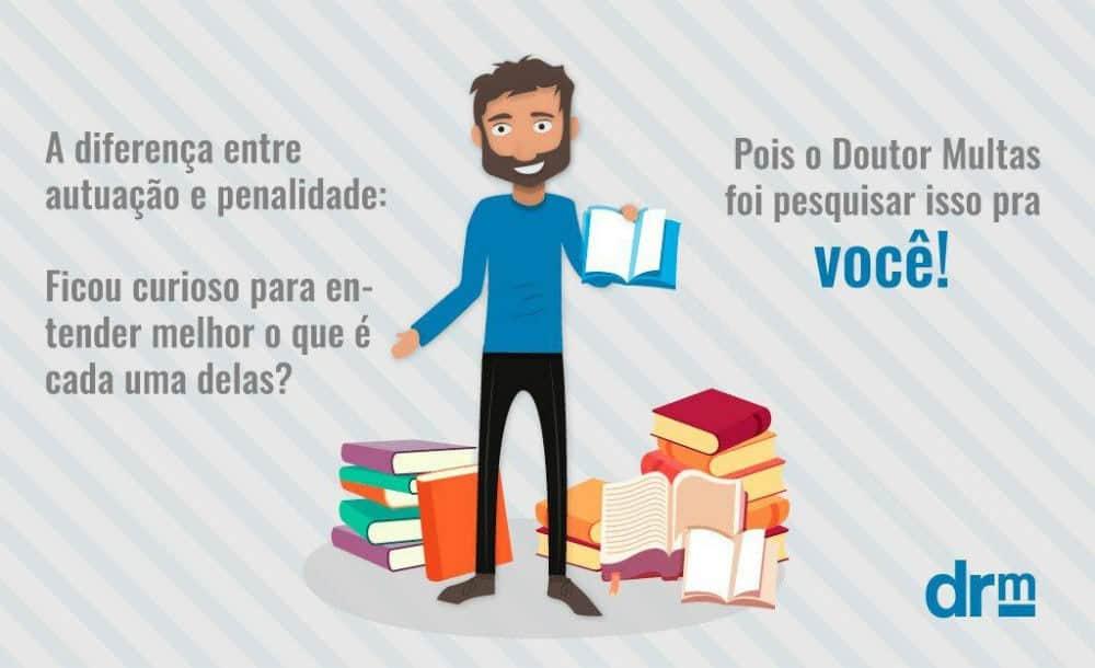 notificacao de penalidade diferenca autuacao