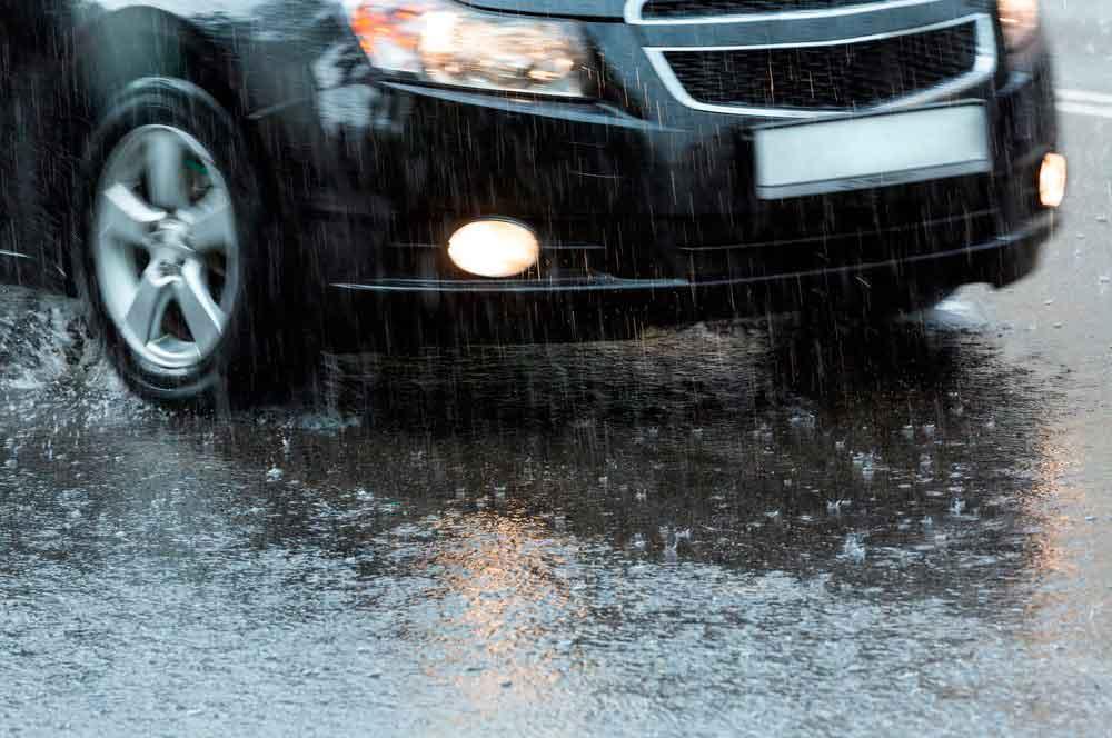 dicas trânsito chuva