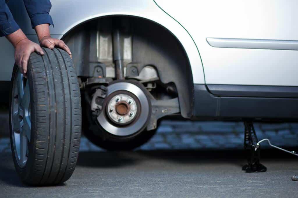 lista segurança veículo pneus
