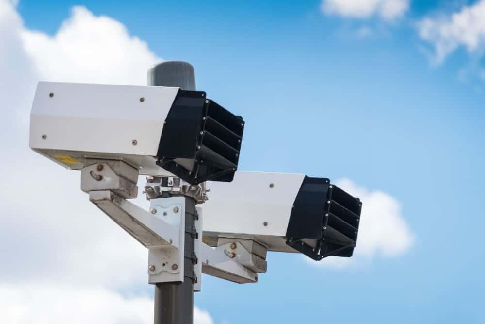 radar móvel câmera