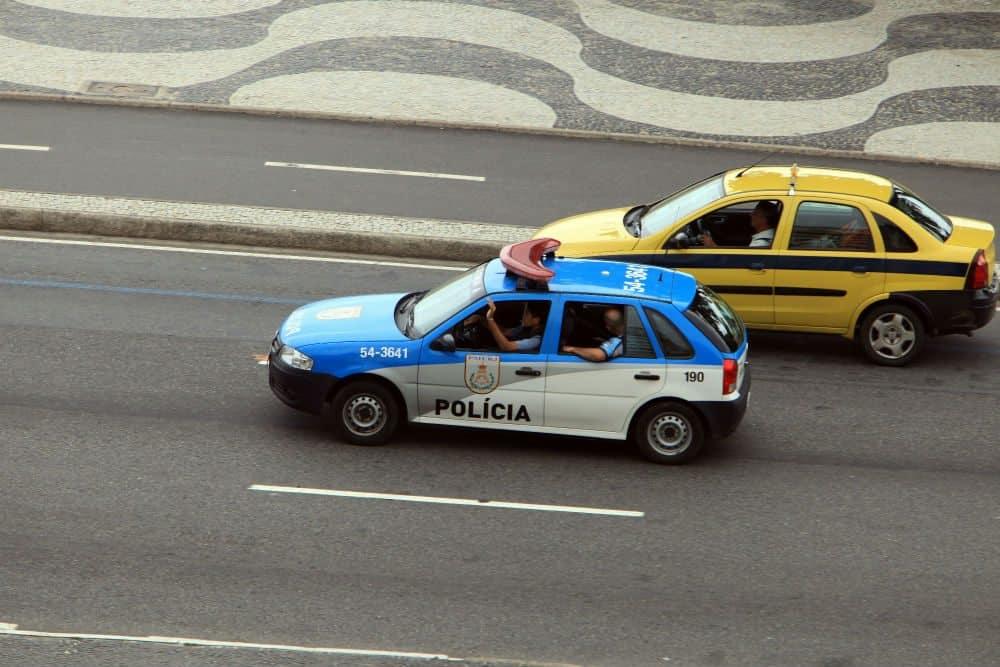 radar móvel viatura policial