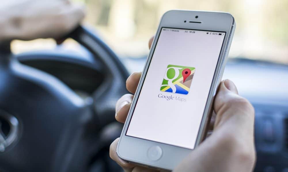 anular multa com google maps aplicativo
