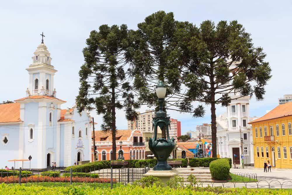 lei seca em Curitiba largo