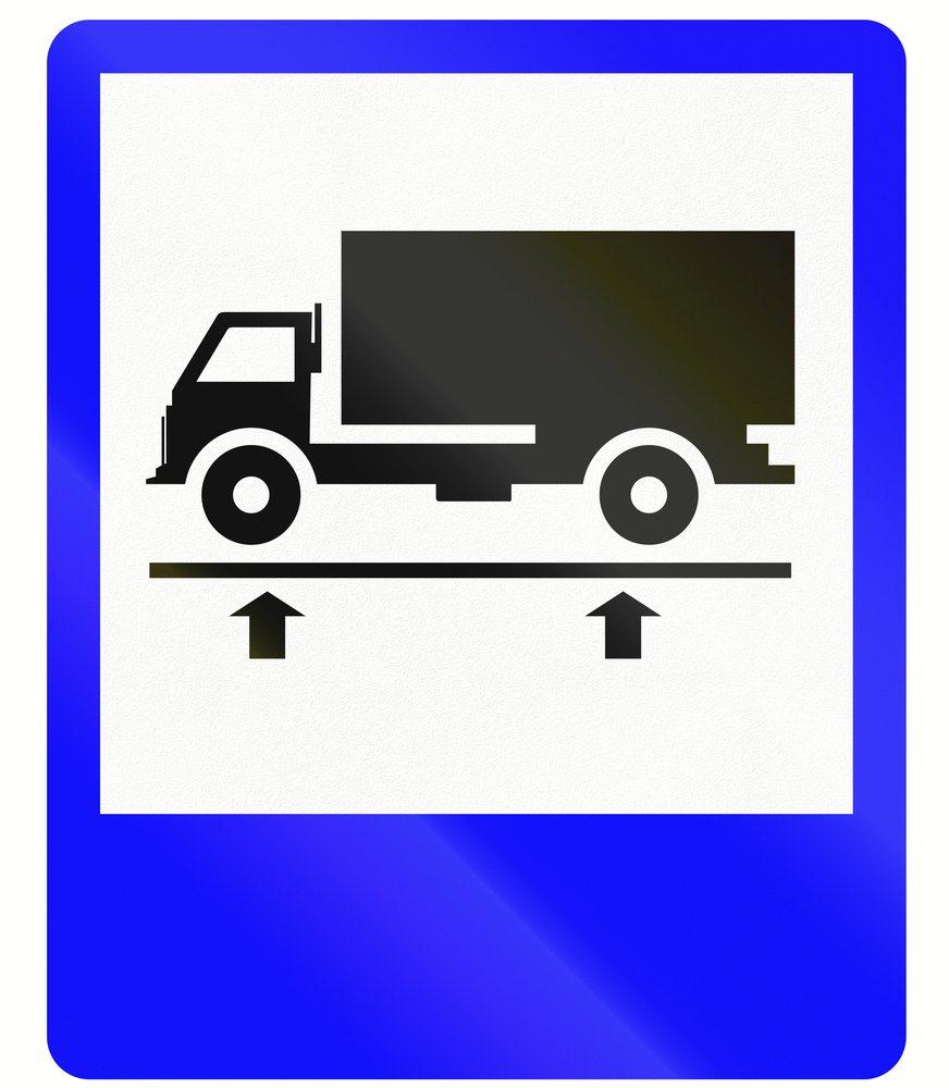 multa por evasão da balança caminhão