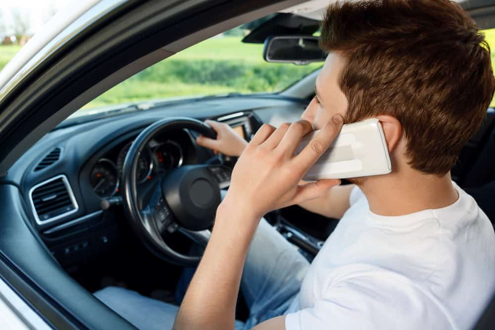 nova lei transito celular
