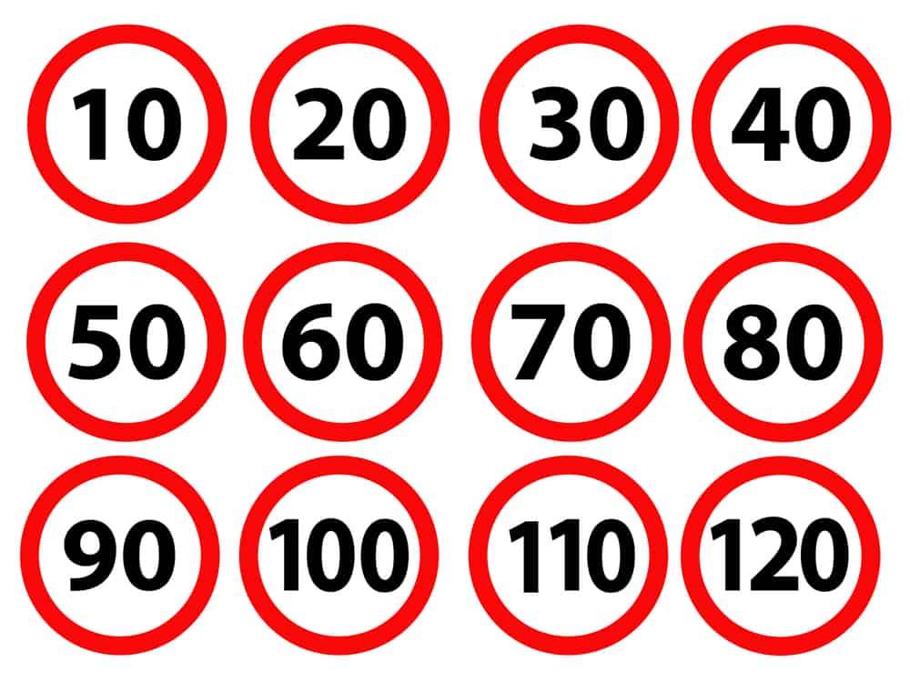 valor multa velocidade sp limites