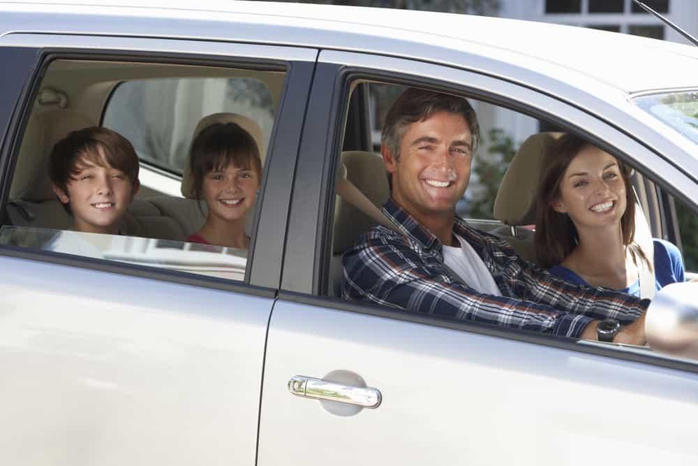 viagem de carro família