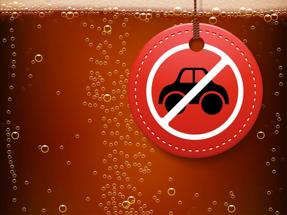 bombom de licor lei seca limite alcool sangue