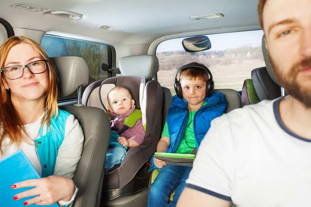 ir de carro familia