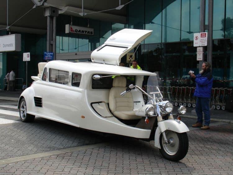 harley davidson limousine