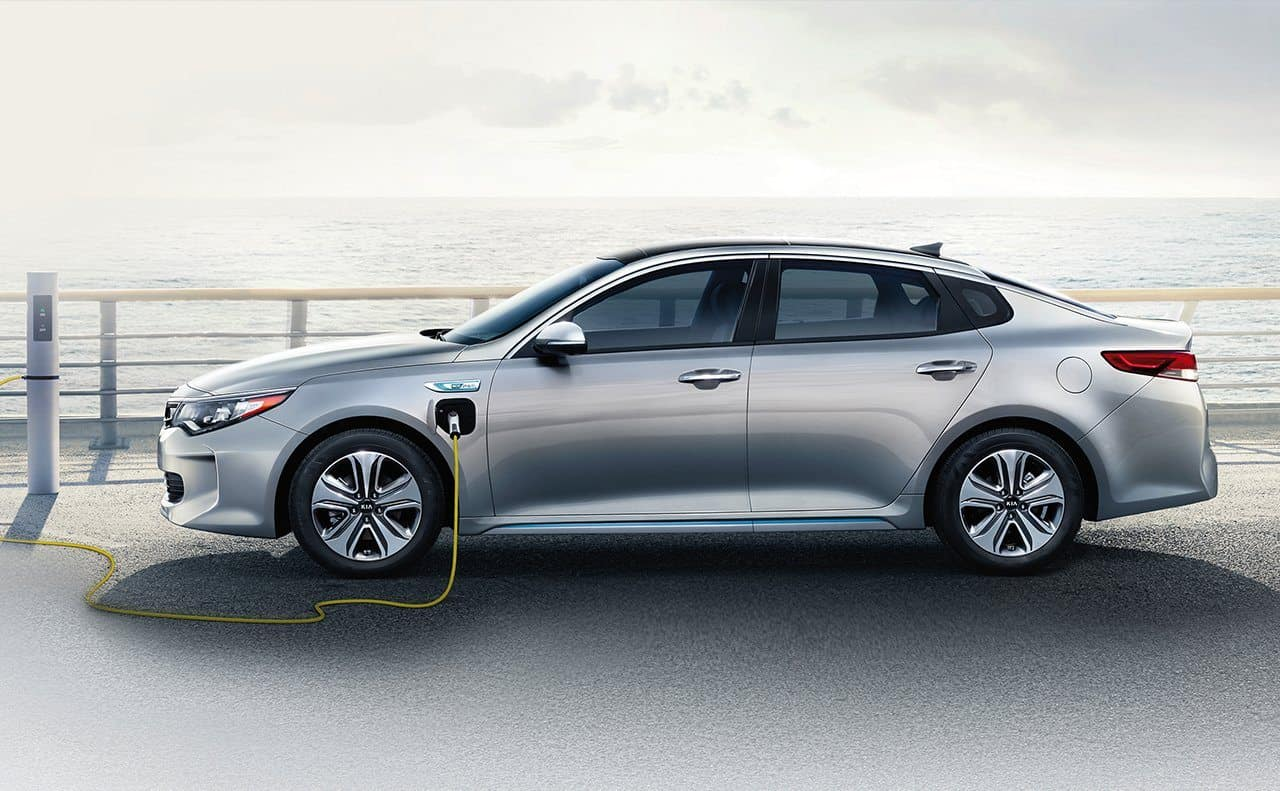 carros mais tecnologicos kia optima plug in