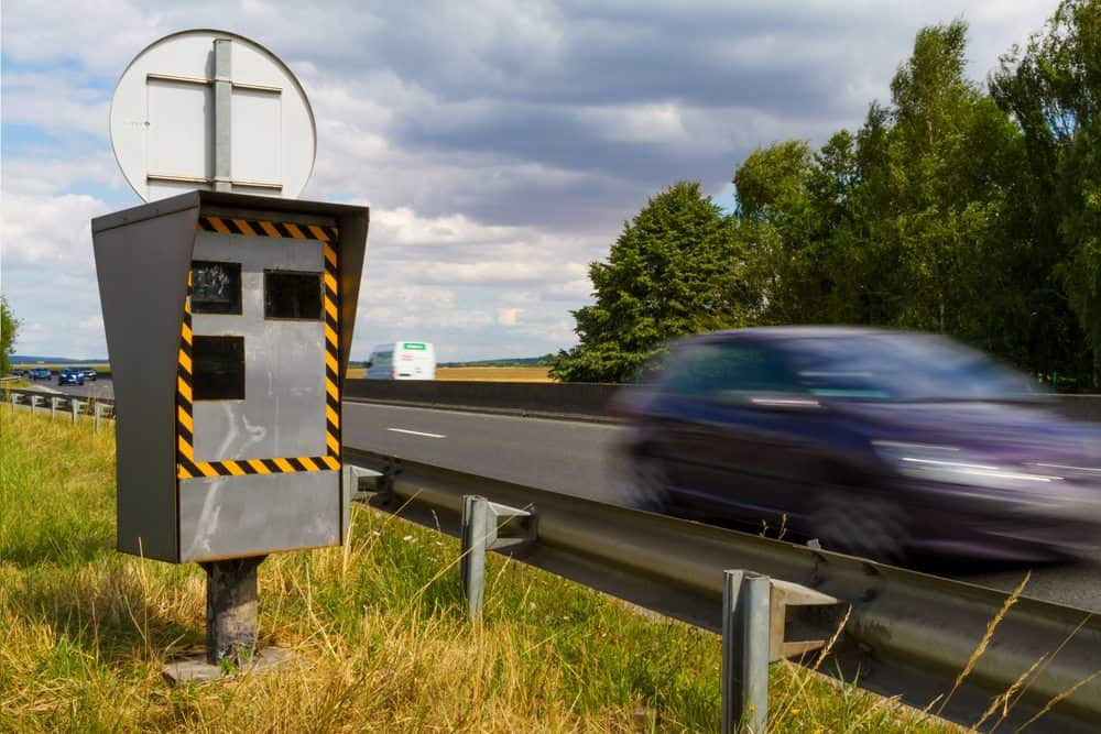 radar de velocidade multa