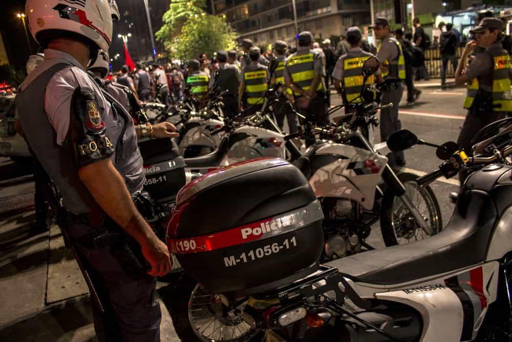 blitz policial significado