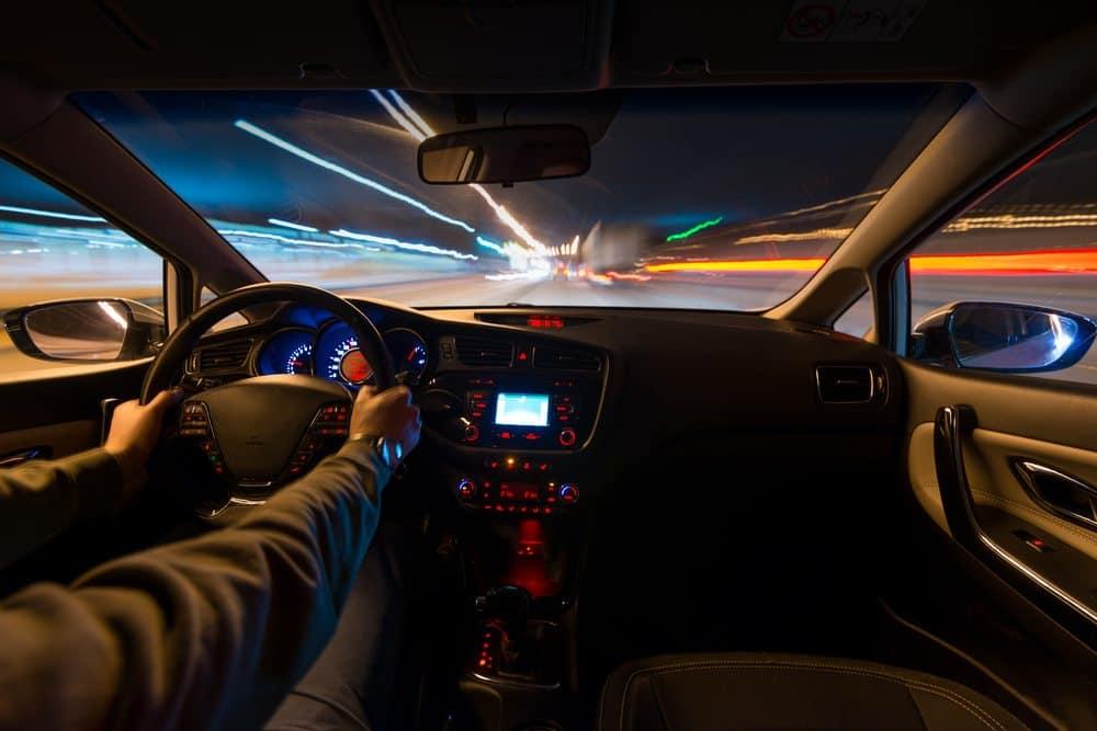 como funciona radar movel noite