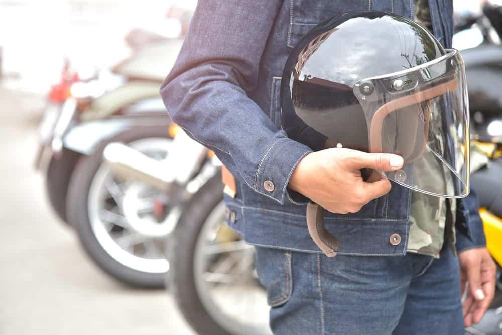 seguranca transito capacete moto