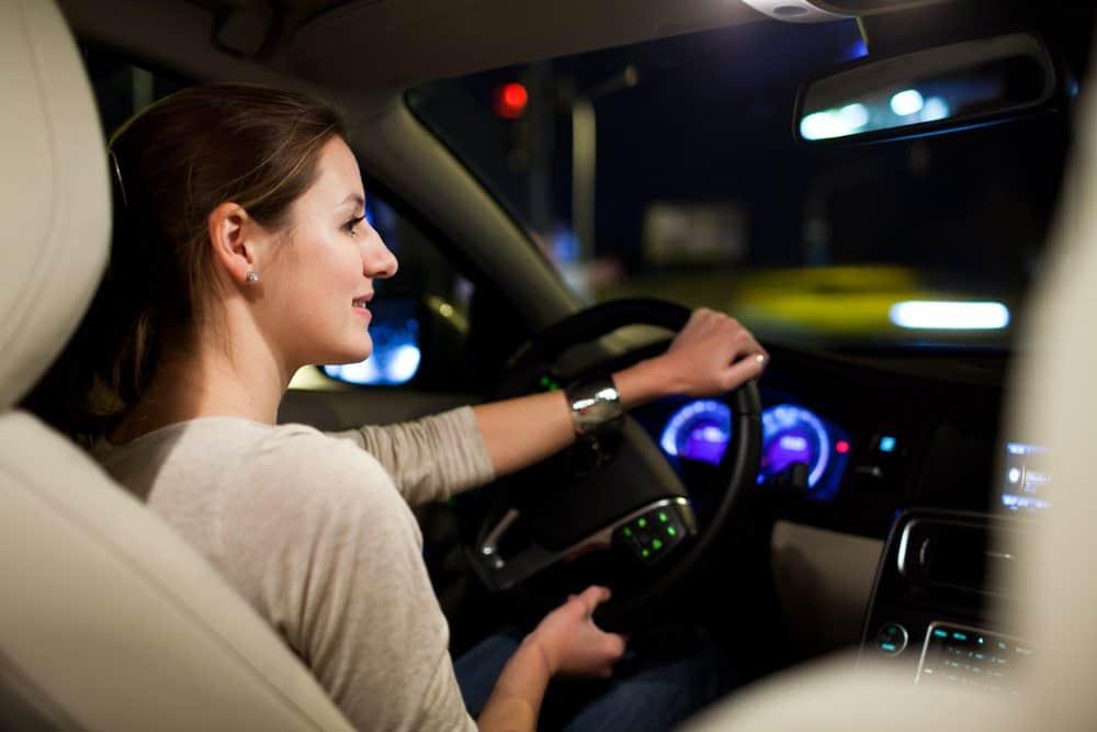 seguranca transito dirigir noite