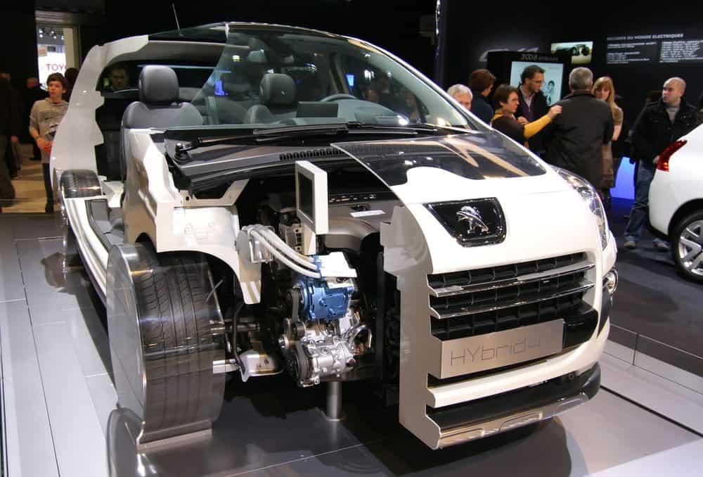 carro do hibrido como funciona motor