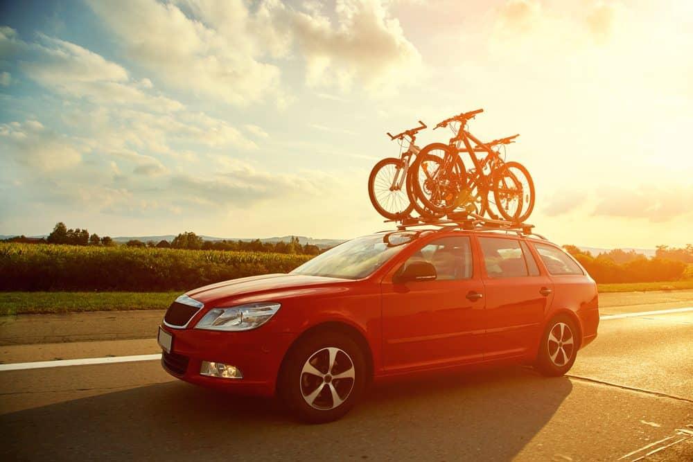 viagem de carro explorar oportunidade
