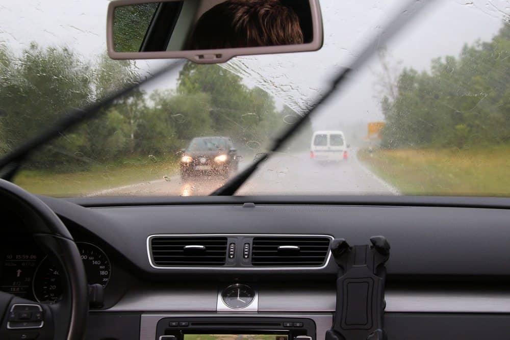 dirigir na chuva conclusao