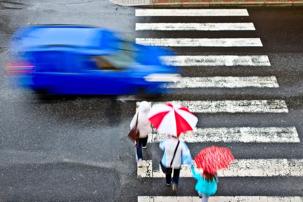 faixa de pedestres que engana motoristas conclusao multa
