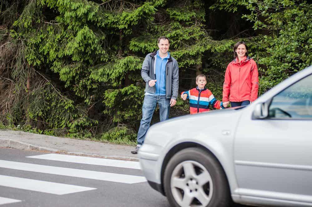 faixa de pedestres que engana motoristas conclusao