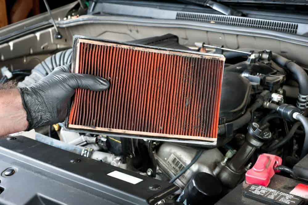 10 para economizar combustivel filtro de ar