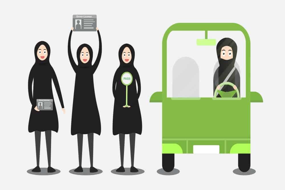 direito de dirigir para mulheres conclusao