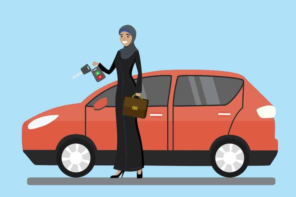 direito de dirigir para mulheres conquista
