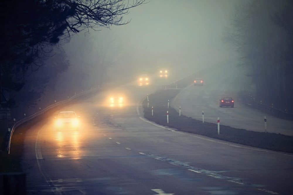 farol neblina cuidados dirigir