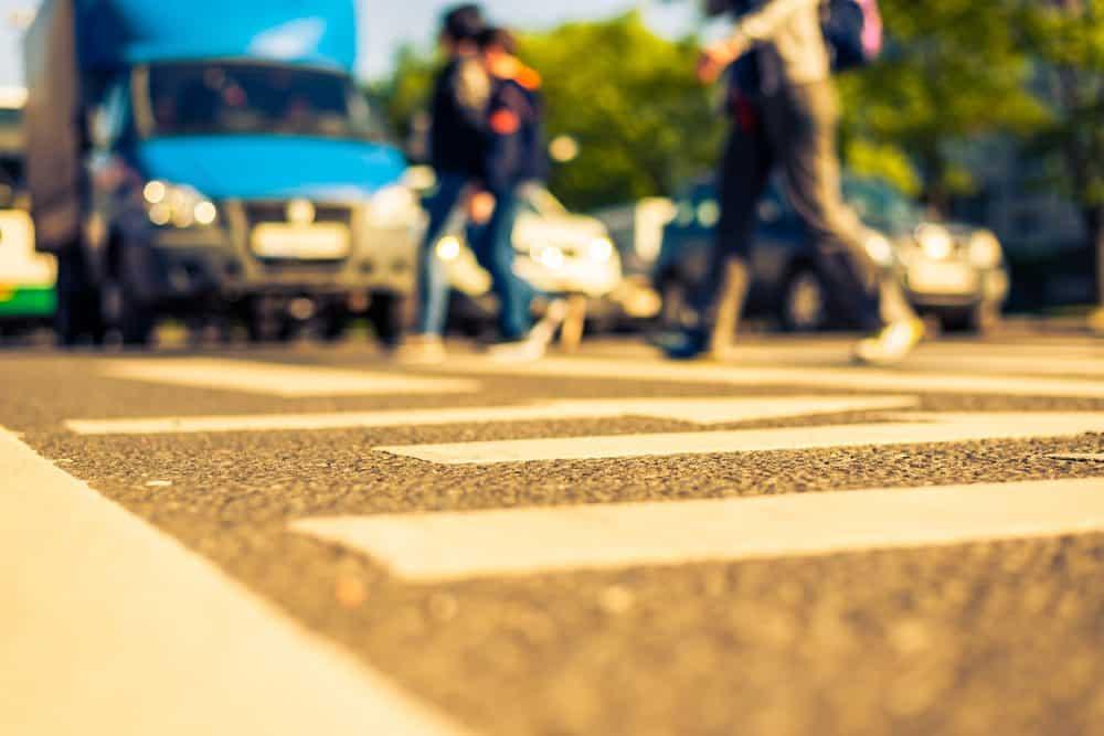 multa para pedestres 2018
