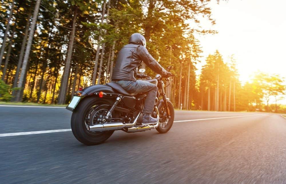pilotar moto de chinelo conclusao